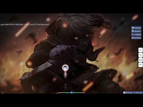 Man With A Mission  - Dark Crow (Osu!)