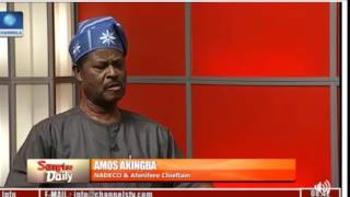 Nigeria is threatening everybody and groups – Dr Amos Akingba - NADECO & Afenifere Chieftain