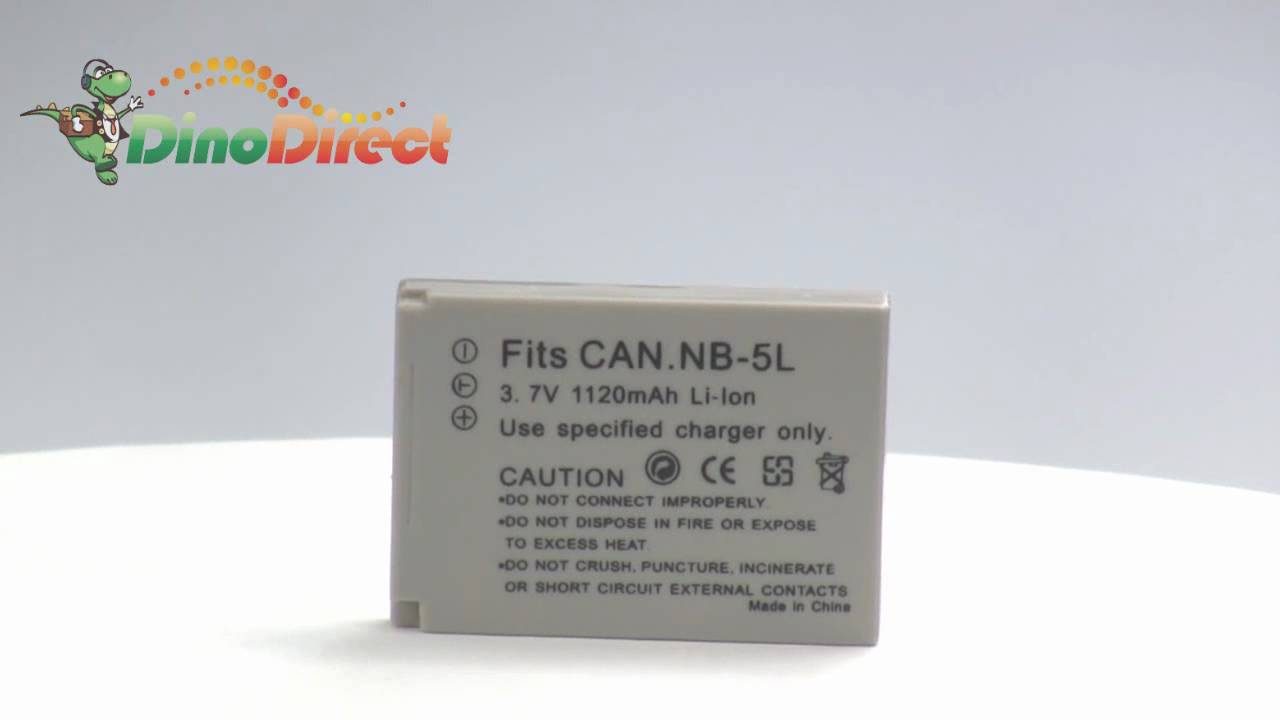 SANGER 37V 1120mAh Digital Camera Replacement Battery for Canon