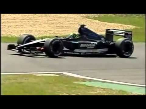 F1 European Grand Prix 2001 | Tarso Marques Qualifying Action