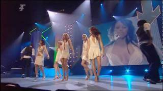 Girls Aloud - Love Machine (Live @ Smash Hits Poll Winners Party 21/11/2004)