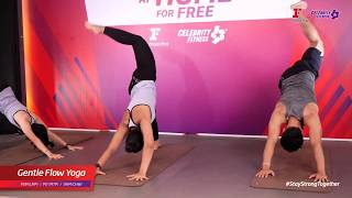 Group Fitness at Home :  Gentle Flow Yoga 4/5/2020