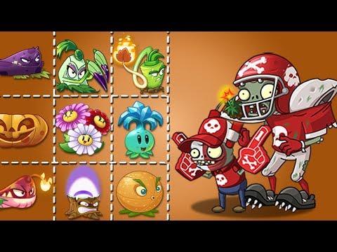 Plants Vs Zombies 2 All Star Mas Super Fan Vs Cada Planta Fuerte