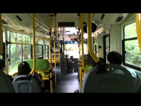 Seoul Metropolitan Bus Route Namsan 02 bus ride