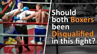 Should Both Boxers Have Been Disqualified? FULL HEATED BOXING FIGHT | John Brennan vs Sonny Whitting