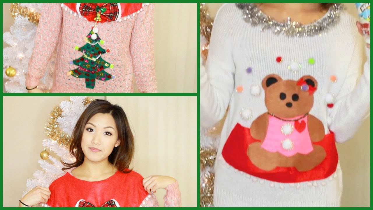 Make Ugly Christmas Sweater - Bronze Cardigan