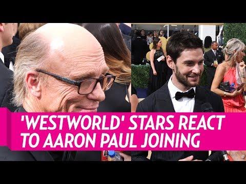 Ed Harris and Ben Barnes Talk Aaron Paul Joining 'Westworld'