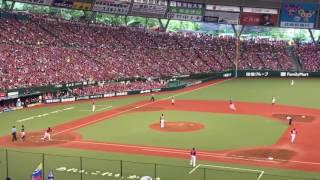 2017.7.23(日)西武栗山 Flag to Victory→3ランホームラン! thumbnail