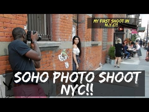 NEW YORK CITY! SOHO PHOTO SHOOT!