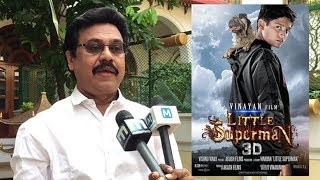 Little Superman gets warm welcome in Bollywood: Vinayan