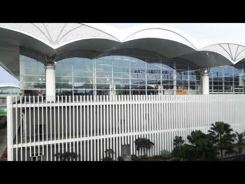 Keindahan Bandara Kualanamu, Medan