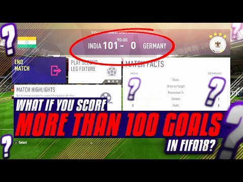 Download Youtube: What If You Score More Than 100 Goals In A Game? - FIFA 18 Experiment
