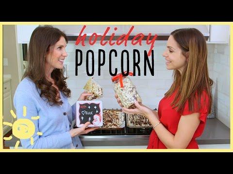EAT | Holiday Popcorn! (Easy No-Bake Recipe)