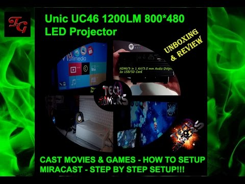 Unic UC46 LED Projector Review - (Gearbest)