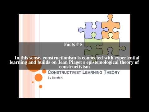 Constructionism (learning theory) Top # 11 Facts