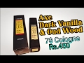 Axe Dark Vanilla and Oud Wood (Signature Gold) | Inexpensive Cologne surprise