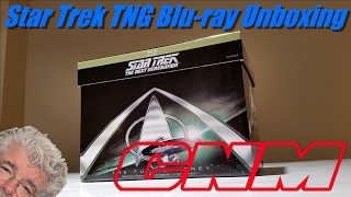 Star Trek The Next Generation Complete Series Blu-ray Unboxing/Review CNM