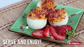 NuRome Hard Boiled Egg Recipes: Classic Deviled Eggs