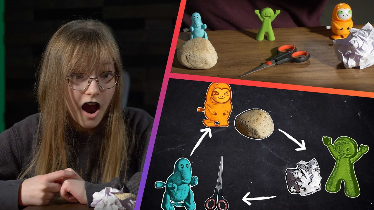 Predict an Epic Rock-Paper-Scissors Face-off! You'll Surprise Yourself!