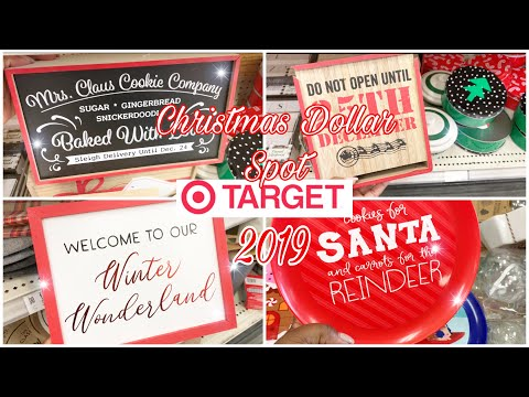 Christmas at Target || Target Dollar Spot 2019 Shop With Me Holiday Edition