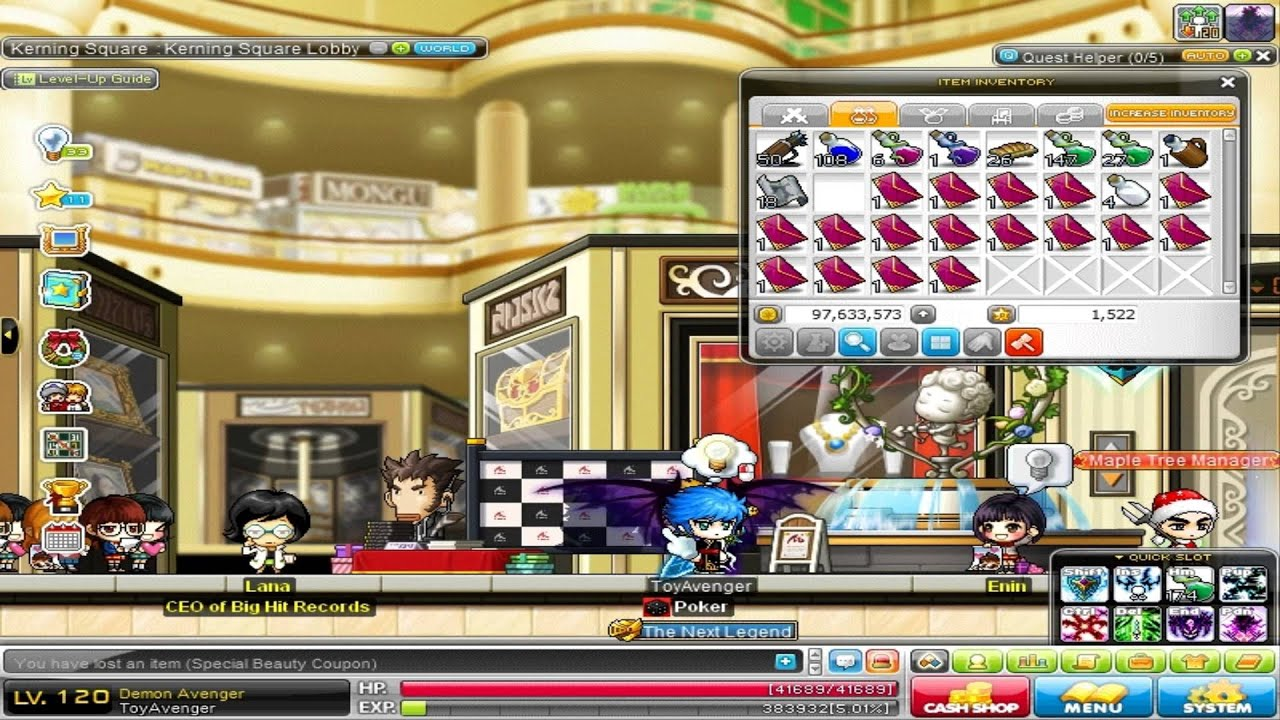 Special beauty coupon maplestory