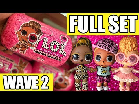 lol-surprise-under-wraps-wave-2-full-set-|-l.o.l.-series-4-first-look-real-dolls