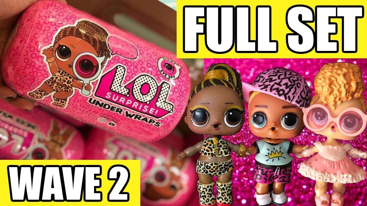 LOL SURPRISE UNDER WRAPS Big Sisters Doll Capsule NEW Eye Spy Series 4 Wave 2