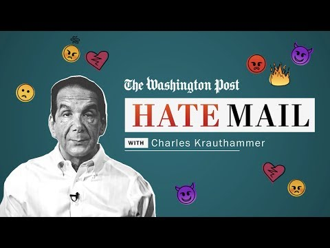 Washington Post columnist Charles Krauthammer reads his hate mail