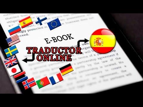 Tutorial Traducir eBook de Ingles a Español Online