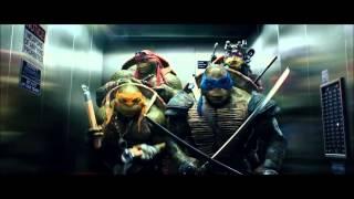 Черепашки-Ниндзя,битбокс в лифте