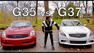 Infiniti G35 vs. G37 - Differences and Comparison