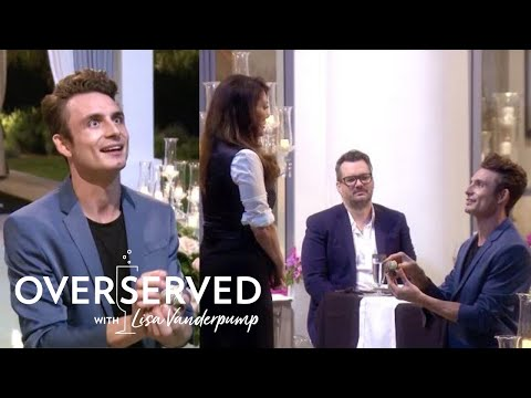 James Kennedy Practices Marriage Proposal on Lisa Vanderpump  Overserved  E!