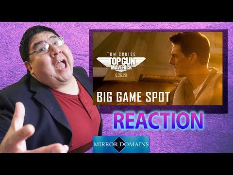 Top Gun Maverick Super Bowl TV Spot Reaction (Looks Epic!)