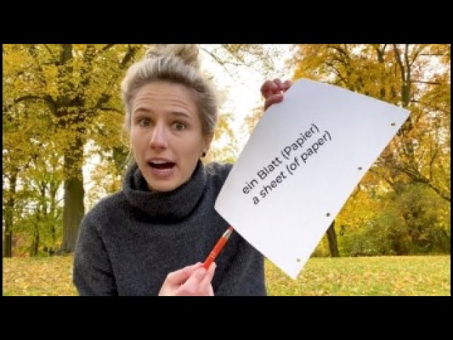 German Autumn Vocabulary you Must Know!