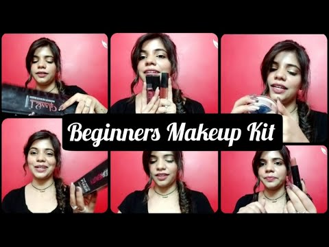 makeup kit for beginners/must have products for beginners