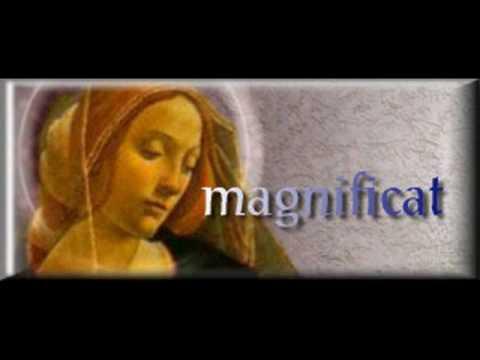 MAGNIFICAT, (Cántico de la Virgen María)