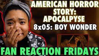 "American Horror Story: Apocalypse Season 8 Episode 5: ""Boy Wonder"" Reaction & Review   FRF"