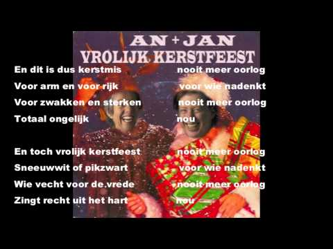 An + Jan: Nooit meer oorlog  (HappyXmas/ War is over)