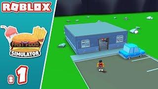 BUILDING MY FAST FOOD RESTAURANT (Roblox Fast Food Simulator #1)