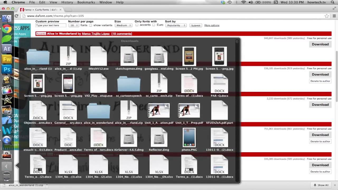 How to add free fonts to photoshop on mac youtube ccuart Gallery