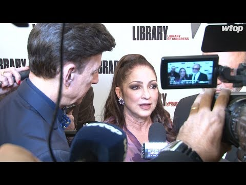 Gloria, Emilio Estefan receive Library of Congress' Gershwin Prize at DAR Mp3