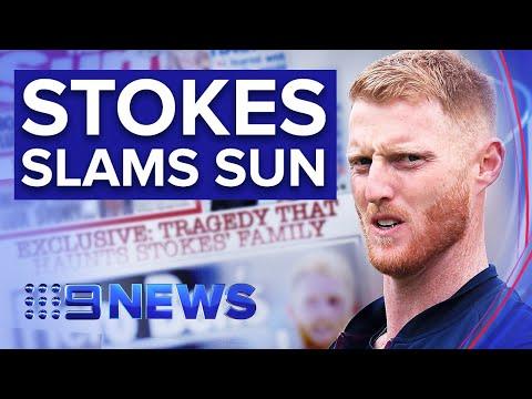 "cricketer-ben-stokes-calls-article-on-family-tragedy-""despicable""-|-nine-news-australia"