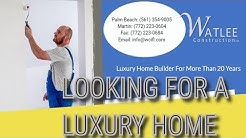 luxury home builders in florida Manalapan Florida | Watlee Construction (772) 223-0604