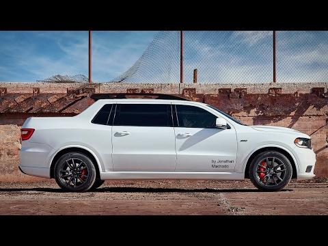 RENDER 2018 Dodge Durango SRT Pickup #DODGE