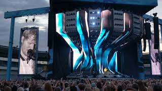 Ed Sheeran - Shape Of You (Live) Sweden Gothenburg Ullevi 10 Juli (4K)