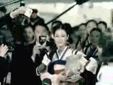 Hyori Anycall CF with North Korean Dancer Cho Myun...