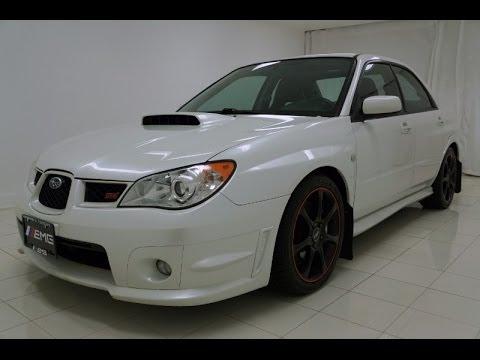 2007 Subaru Impreza Sedan Wrx Sti Limited Youtube