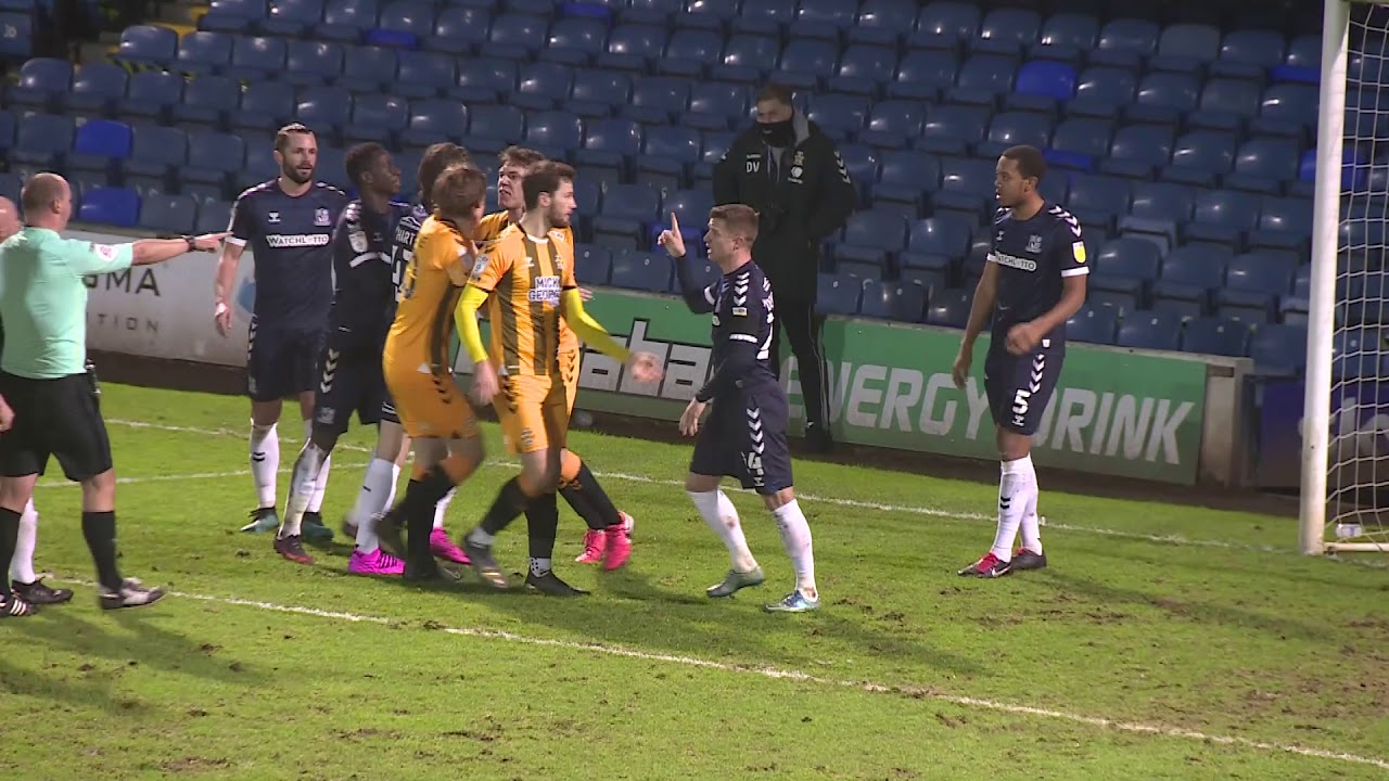Саутенд Юнайтед  1-2  Кембридж Юнайтед видео