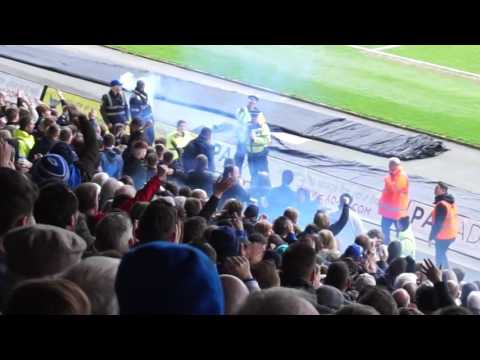 Groundhop at the Kassam Stadium - Oxford United vs. Bristol Rovers - F*CK OFF MATTY TAYLOR