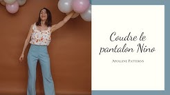 DIY - Coudre le pantalon Nino - Apolline Patterns